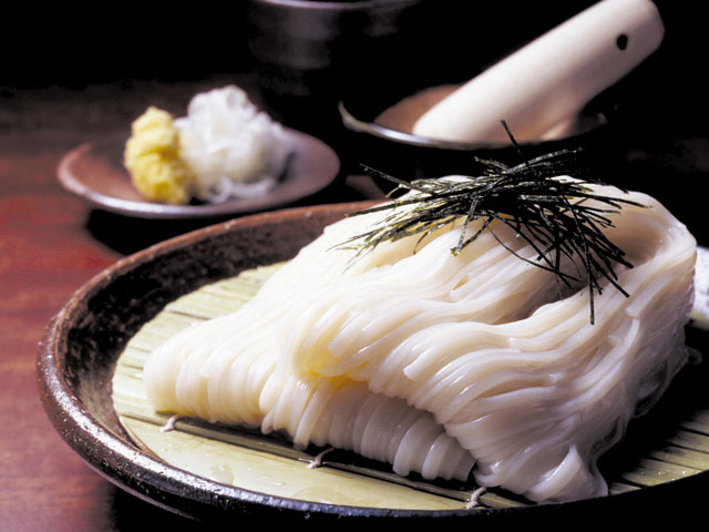 稲庭うどん(つけ麺)